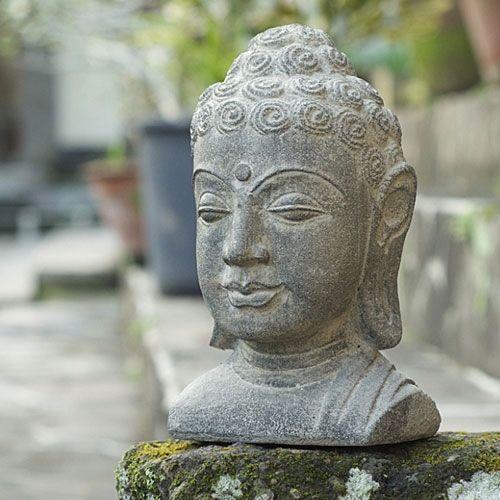 "Spread your love for Eastern Leaf!  Volcanic Ash Buddha Head 8"" Stonewashed"