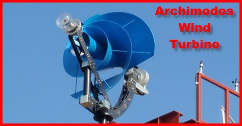 The Archimedes Wind Turbine - A Home Wind Power Delight - http://www.greenenergyjubilation.com/the-archimedes-wind-turbine-a-home-wind-power-delight/