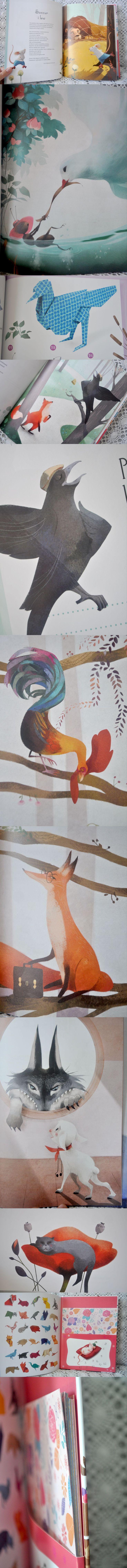 Bajki La Fontaine'a i ich bohaterowie w wersji origami