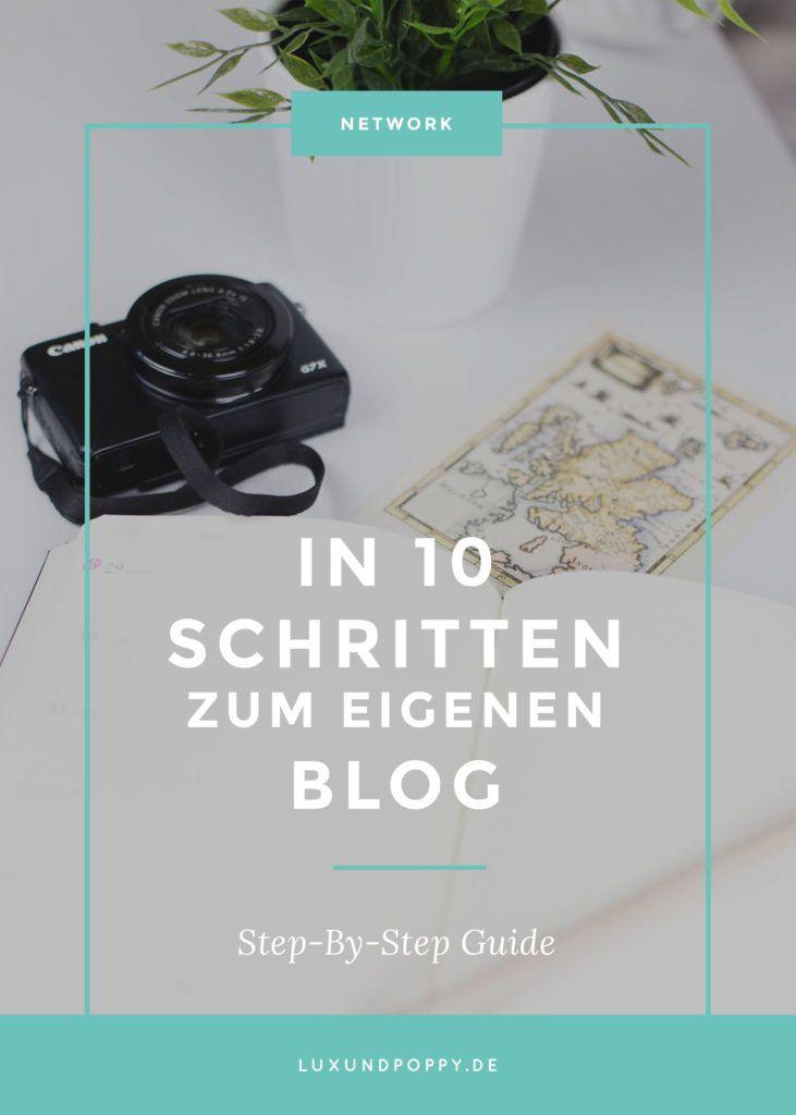 In 10 Schritten zum eigenen Blog: Mit tollen Quellen für Tipps & Tricks zum Thema Blogging!