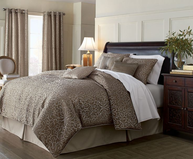 'Arabesque' 7-Piece Comforter Set #SearsWishlist
