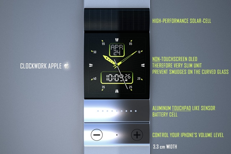 iWatch Concept by Tolga Tuncer