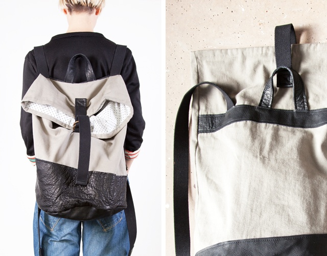 FORBICE backpack in grey