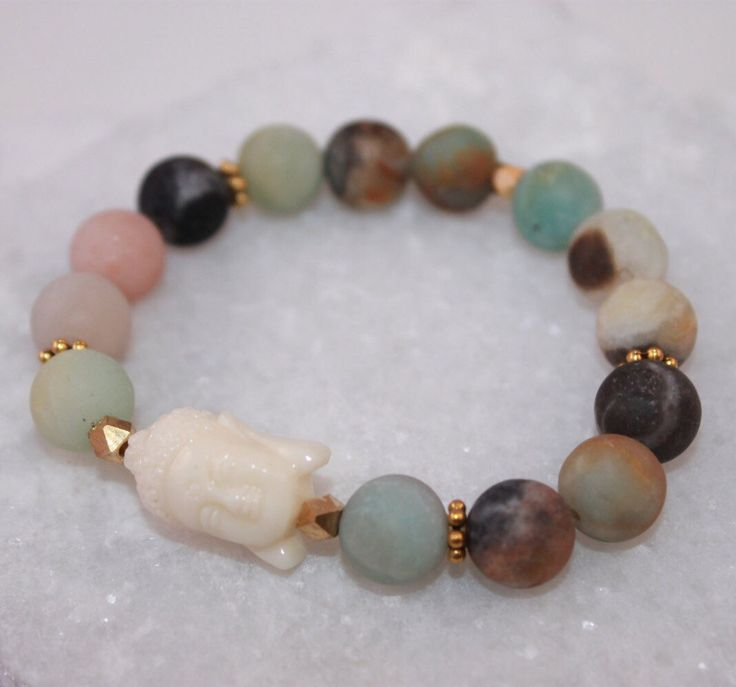 A personal favorite from my Etsy shop https://www.etsy.com/listing/259636931/matte-frosted-natural-amazonite-gemstone