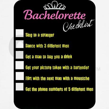 17 best ideas about Bachelorette Checklist on Pinterest ...