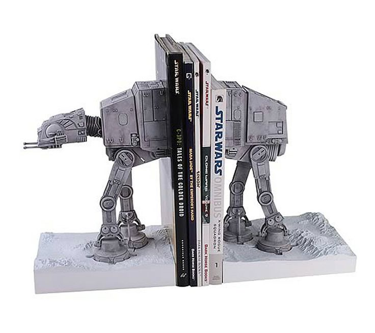 If It's Hip, It's Here: Star Wars Imperial AT-AT Walker Bookends. And Other Star Wars Stuff For The Holidays.