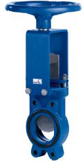 Kinife gate valves