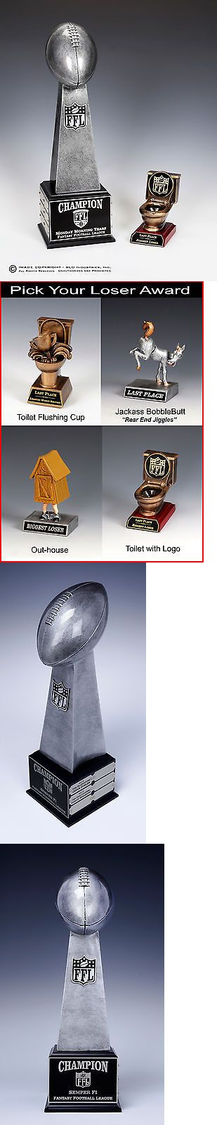 Other Football 2024: Fantasy Football Perpetual Trophy Lombardi,Combo, Loser, Last Place Award Toliet -> BUY IT NOW ONLY: $86.9 on eBay!