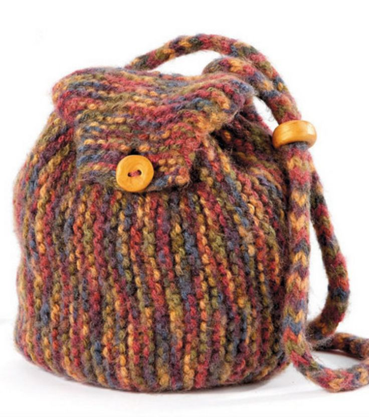 Knitting Pattern For A String Bag : 56 best images about Backpacks on Pinterest Small ...