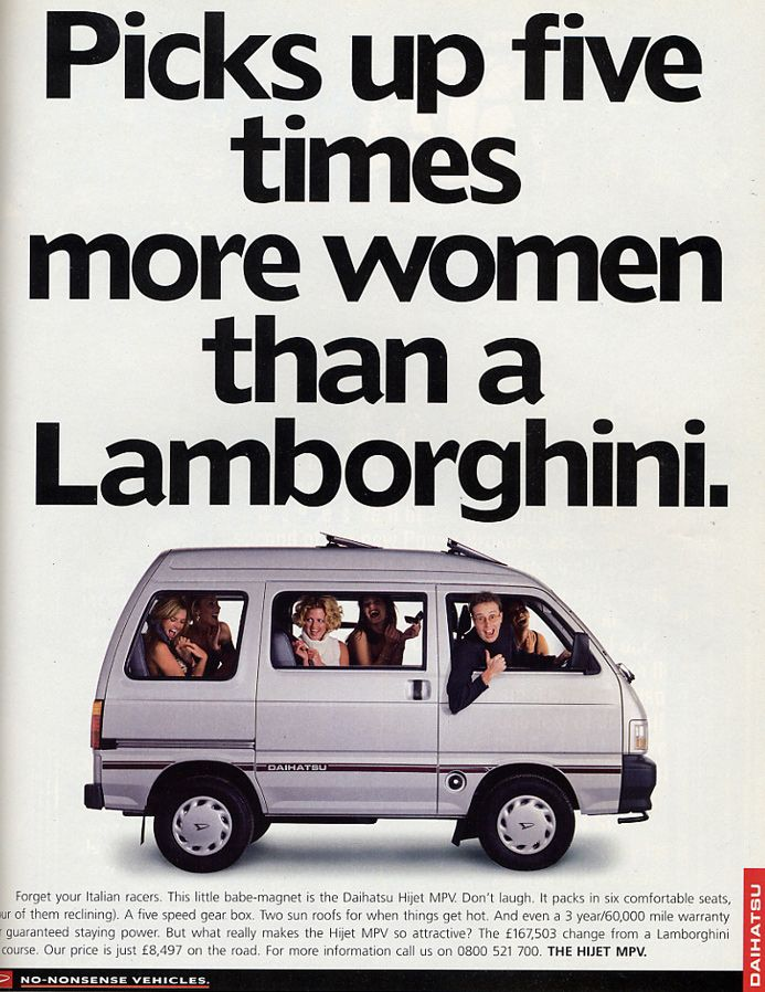 There have been some impressive car print ads over time - and here are 20 of the best