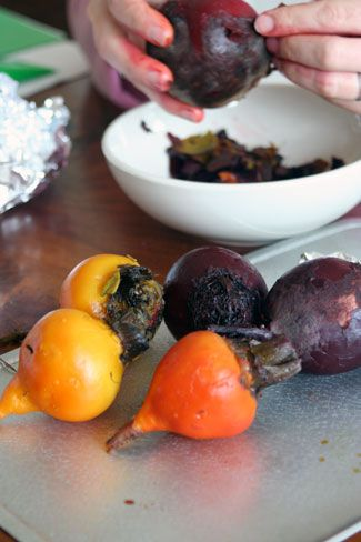 Tip: How To Roast and Peel Beets