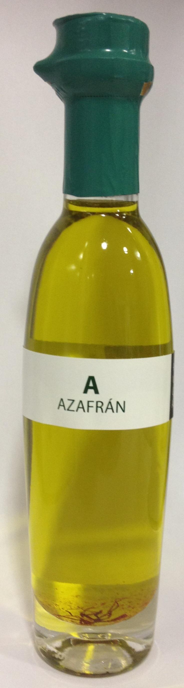 Aceite de oliva virgen extra ecostean con azafran! Condimentado ESPECIAL !!