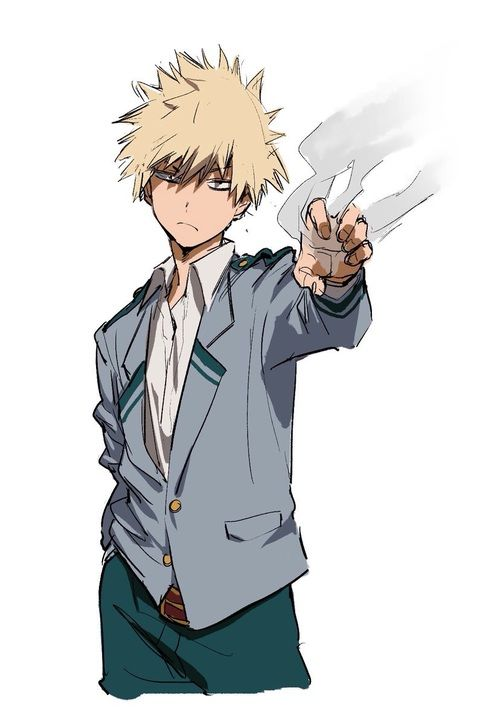 boku no hero academia, my hero academia, katsuki bakugou