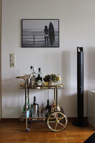 My Bar Cart - [thegoldenkitz]