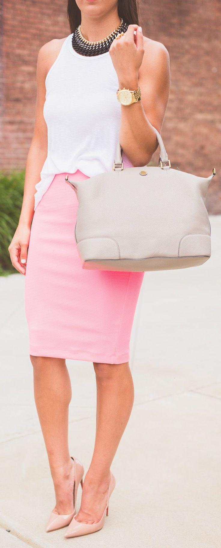 Best 25+ Midi pencil skirts ideas only on Pinterest | Pencil skirt ...
