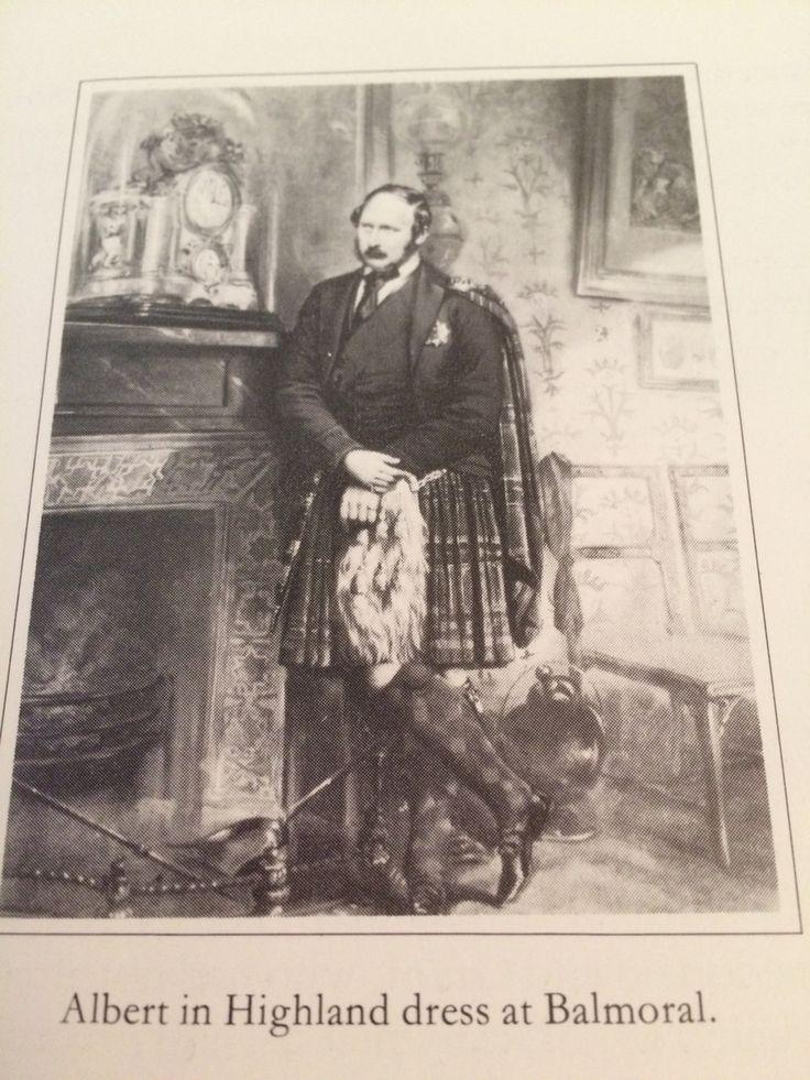 Prince Albert at balmoral