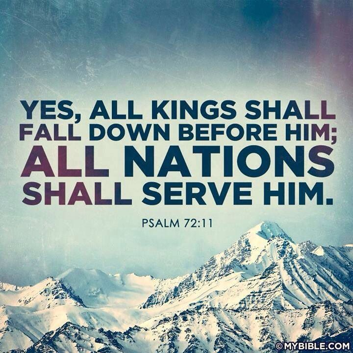 Psalm 72:11 #HopeforToday