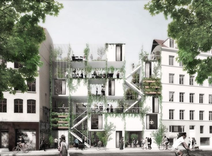 WE architecture + Erik Juul's Urban Garden and Housing to Provide Turning Point for Copenhagen's Homeless | ArchDaily