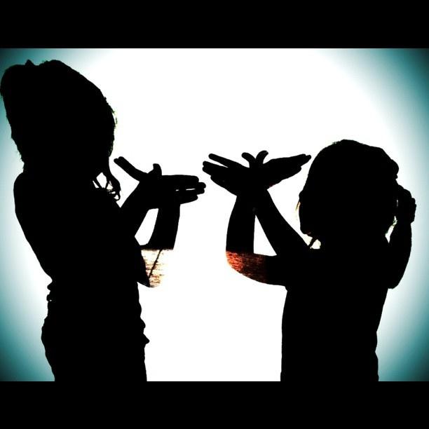 Shadow sisters!