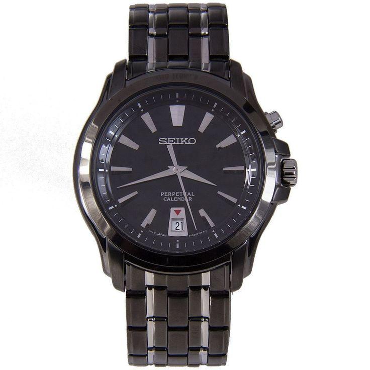 Seiko, Perpetual, Calendar, Men's Watch, SNQ121