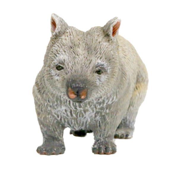 Southern Hairy Nosed Wombat figurine | Worldwide shipping www.minizoo.com.au