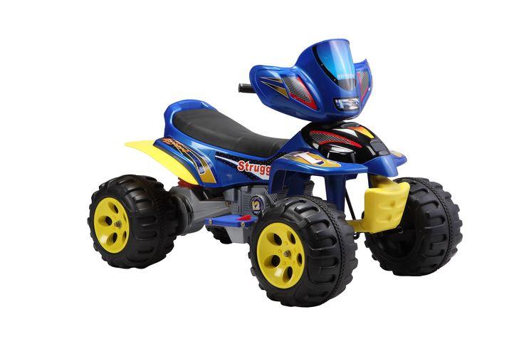 Электромобиль Квадрацикл А22 синий