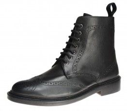 Bench Grade Moreton Black Lace Up Chelsea, Ankle Boots Pull Welted Dealer Mens - £69.99