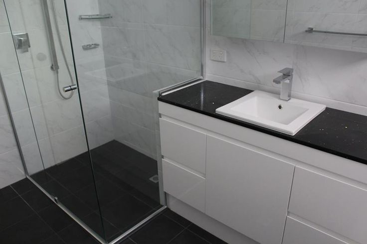 Thin Top Mounted Bowl, Gloss White No Handles Aromta Design    On the Ball Bathrooms