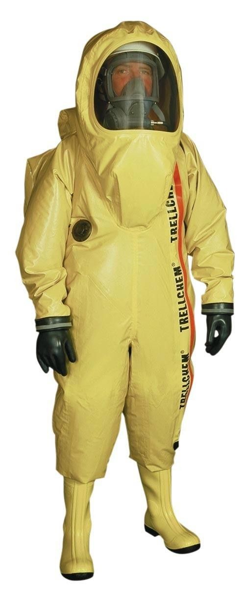 MOD SURPLUS TRELLCHEM HazMat Suit level A