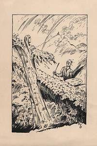 Konůpek, Jan – bez názvu (malíř u zříceniny III.)