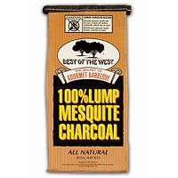 Best of the West 100% Mesquite Lump Charcoal - 20 lbs - Sam's Club
