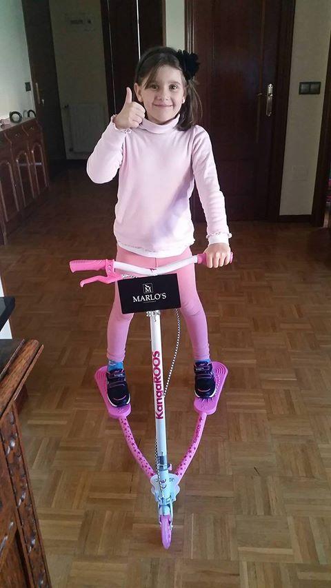 Marta ya ha recibido su premio del sorteo del Día del Niño. ¡Que lo disfrutes!
