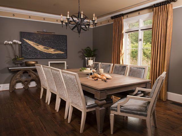 серая мебель в интерьере гостиной