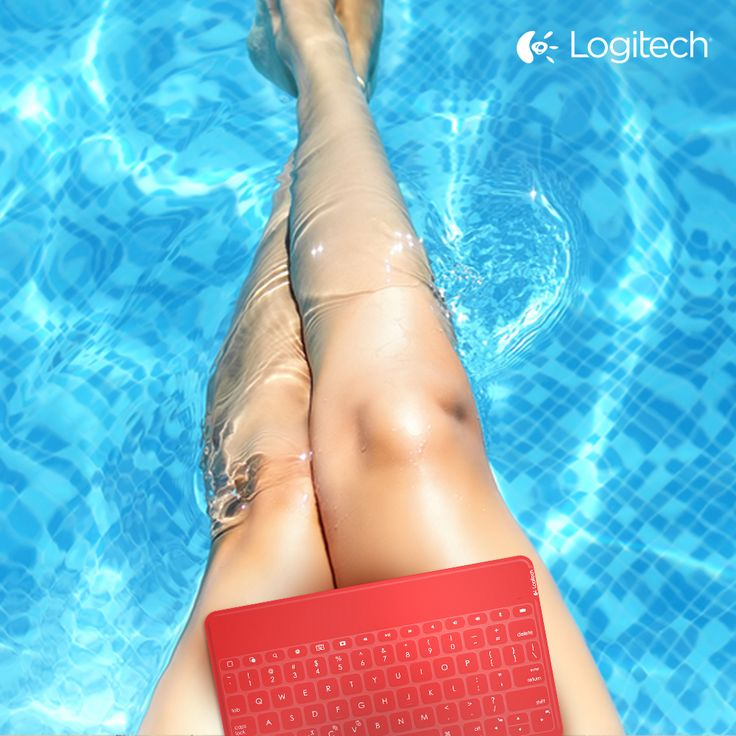 Feet in the pool, hands on the #KeysToGo. Cool in every sense of the word.