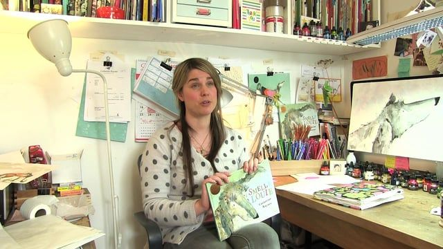 Catherine Rayner tells about her children's book
