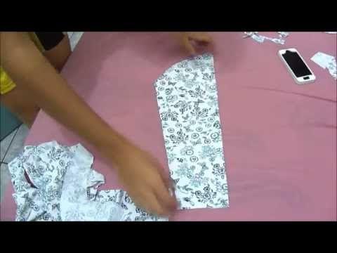 DIY O JEITO MAIS FÁCIL DE MODELAR MANGA (CURTA/COMPRIDA) - Como fazer manga de blusa - YouTube