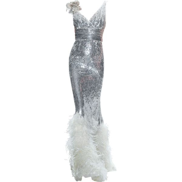NAEEM KHAN gown ❤( This is my Ginger Rogers gown) dancing cheek to cheek!