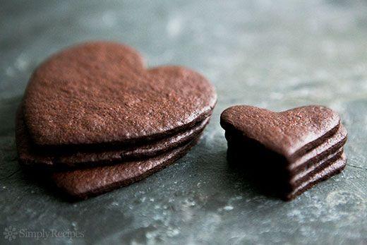 Thin and Crispy Chocolate Cookies