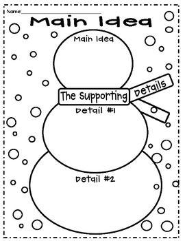 MAIN IDEA AND DETAILS: HOLIDAY THEMED (COMMON CORE) - TeachersPayTeachers.com