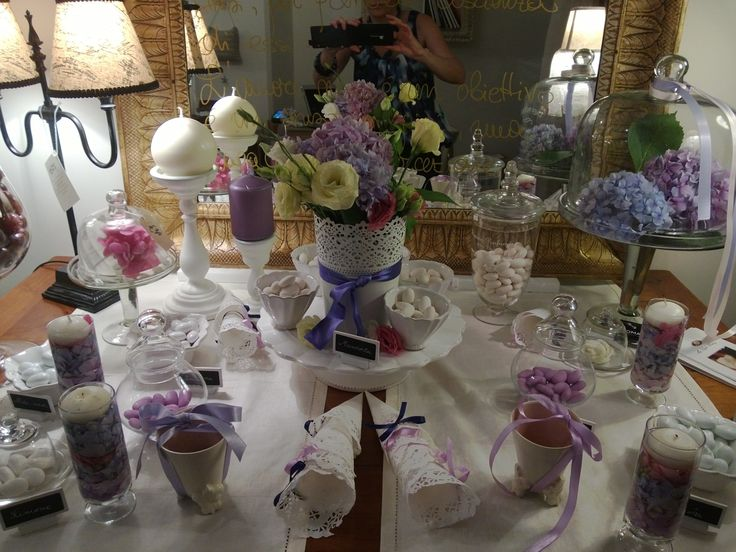 Confetti and candy bar for your wedding in Rome