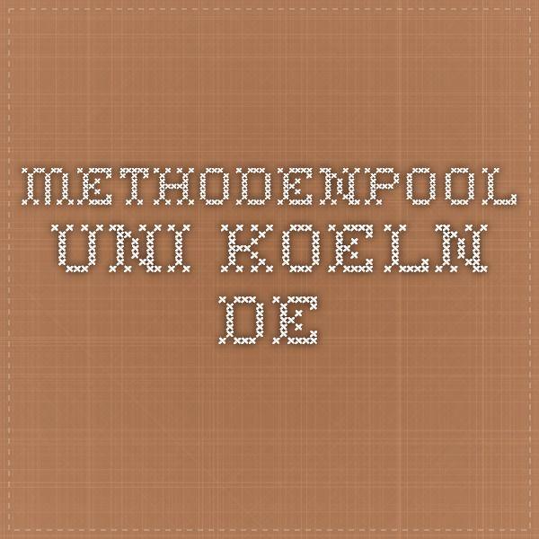 methodenpool.uni-koeln.de