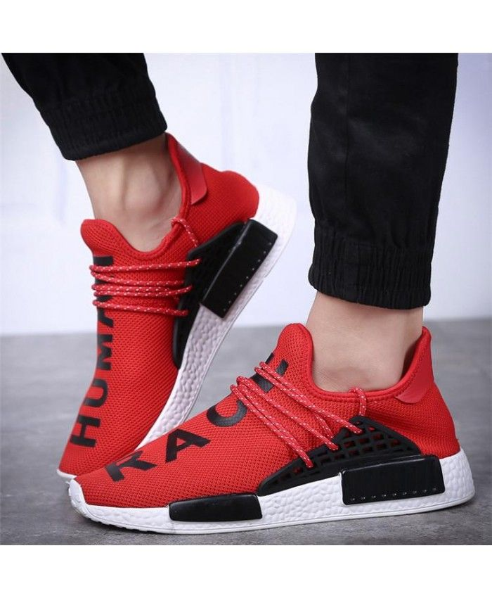 3c661717f5ac Cheap Adidas Nmd Human Race Runner Boost Red Sneakers Sale Uk