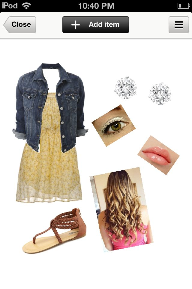49dcc6a76a96d Cute fall and spring look. Perfect for the first day of school. Very girly