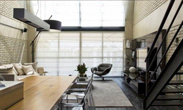 Industriální styl bydlení