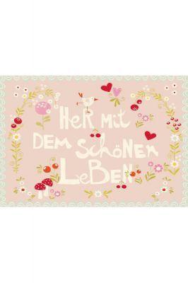 Postkarte Schönes Leben Wendekreis