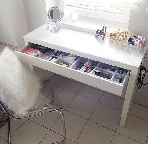 Ikea schminktisch schreibtisch  25+ bästa Ikea schminktisch malm idéerna på Pinterest | Ikea malm ...