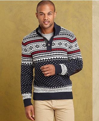 39 best Men's Fair Isle Sweaters Style images on Pinterest | Man ...