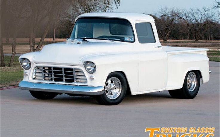 1955 chevy truck | 1955 Chevy Pickup - Double-Nickel With A Blown 355 Photo Gallery