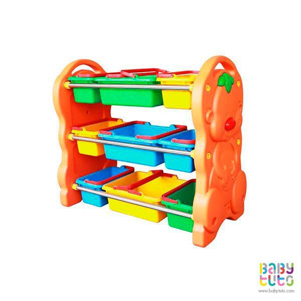 Organizador plástico de colores, $59.990 (precio referencial). Marca Kidscool: http://bit.ly/1HGyVr8