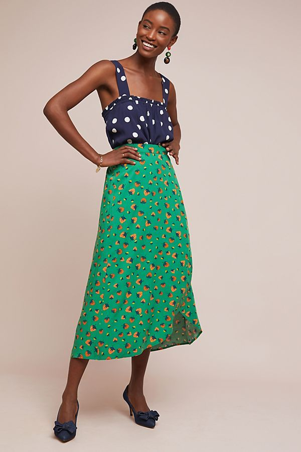 d11bdd4a Colloquial Wrap Skirt in 2019   Sensational Skirts   Skirts ...